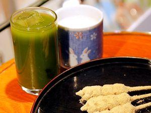 浅草きびだんご あづま 冷し抹茶