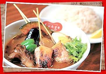 すあげプラス「パリパリ知床鶏と野菜カレー」