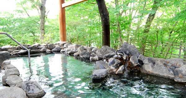 森に癒される奥久慈温泉郷、ホテル奥久慈館