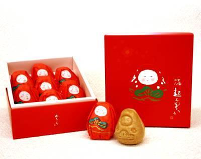加賀八幡起上もなか:縁起物の和菓子です
