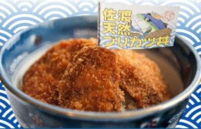 新潟名物&グルメ⑧佐渡の冬の味覚!天然ブリカツ丼