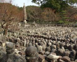 京都最強危険心霊スポット③野ざらしの遺体が集まっていた風葬の地「化野念仏寺」