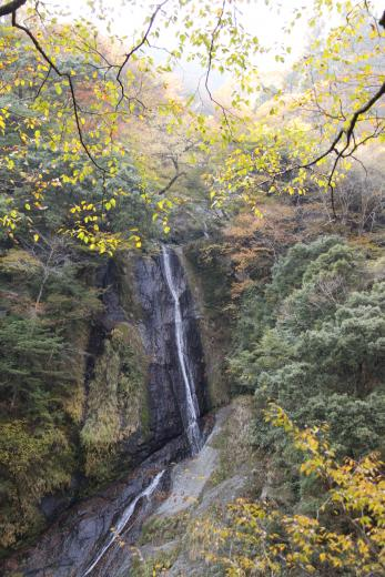 山梨県紅葉名所⑨町営・奥山温泉とのセット観光がお勧め「福士川渓谷」