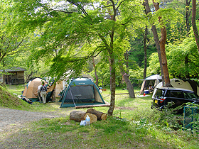 ①川も山も楽しめる!ほうれん坊の森キャンプ場