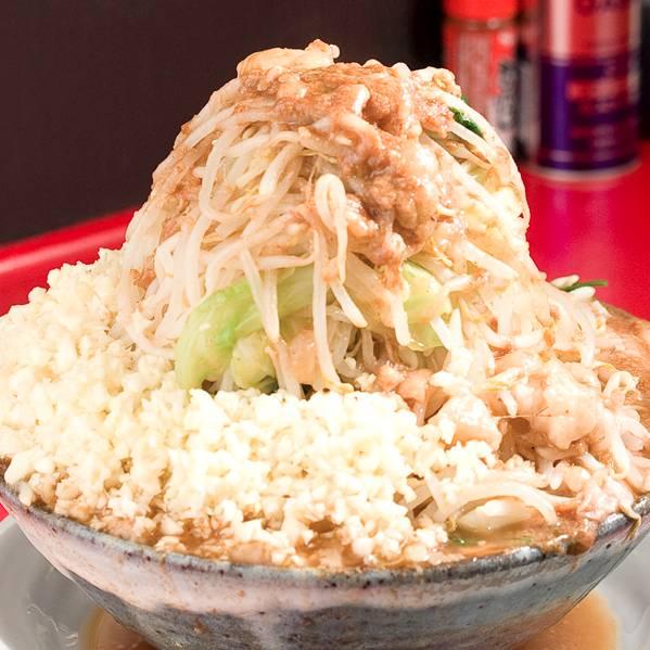 水戸ラーメンランキング⑤茨城で食べる二郎系!豚男-BUTAMEN-