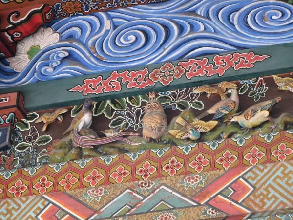埼玉県秩父神社⑦見どころ:神使の中でも随一の頭脳派「北辰の梟」