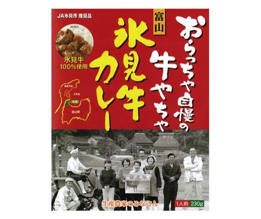 富山県のお土産⑤テレビでランキング1位になりました!『氷見牛カレー』