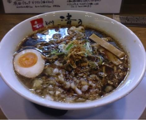和歌山おすすめラーメンランキング①有名な湯浅醤油を使用した有田ブラック「和 dining 清乃」2