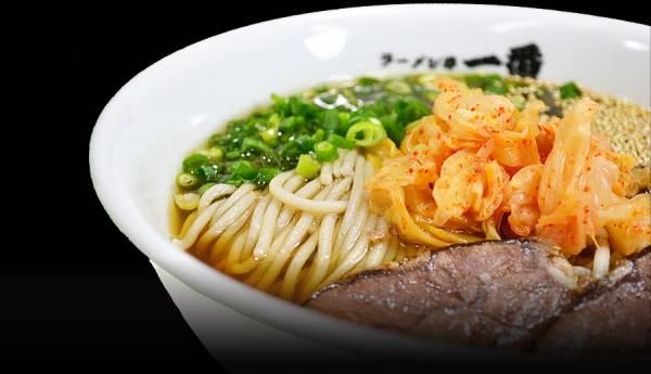 別府冷麺ランキング④ラーメン亭一番~ラーメン屋さんのおすすめ冷麺!