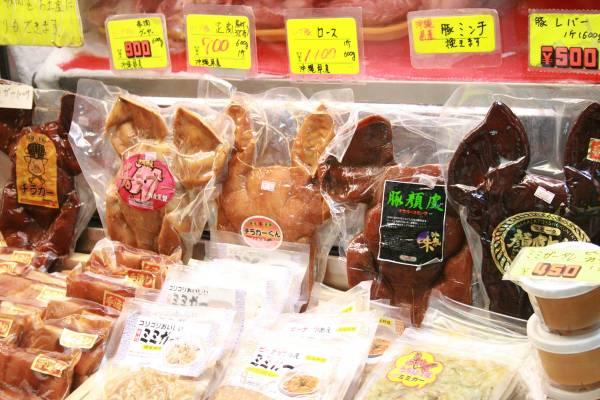 沖縄県ゲテモノ名物③見た目のインパクトは地元民もびっくり、豚の顔(チラガー)