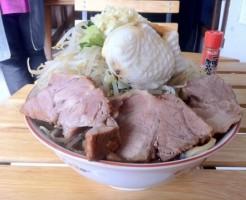 仙台超大盛りデカ盛り⑨ラーメンとたい焼きのコラボ!たいやき本舗 藤屋