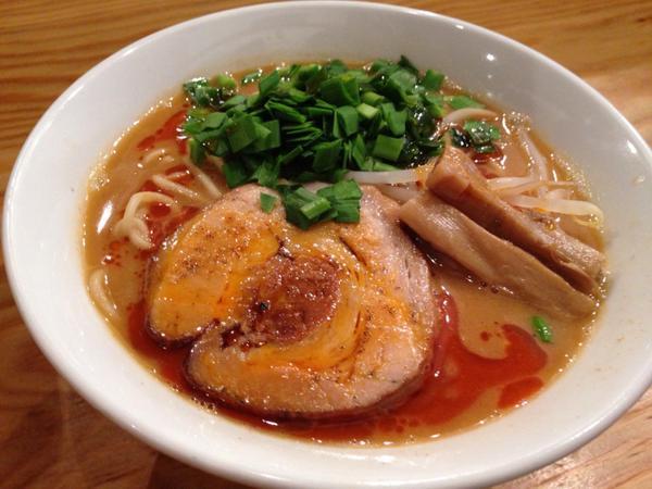 浅草ラーメンランキング⑩ほっと落ち着ける豚骨スープ「富士らーめん」