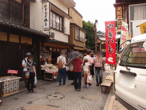 川越の菓子屋横丁②香りを楽しむ街