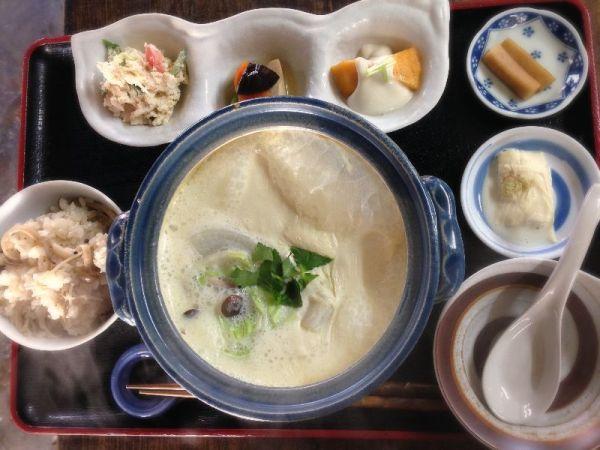 長瀞名物グルメ①地元産の手作り豆腐「お豆ふ処うめだ屋」