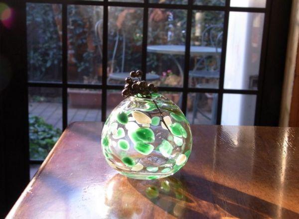 川越お土産ランキング⑦思い出になる「手作りグラス」(Bule moon)