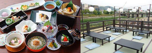京都府湯豆腐ランキング②鴨川で涼を取りながら食べる「豆水楼 木屋町本店」