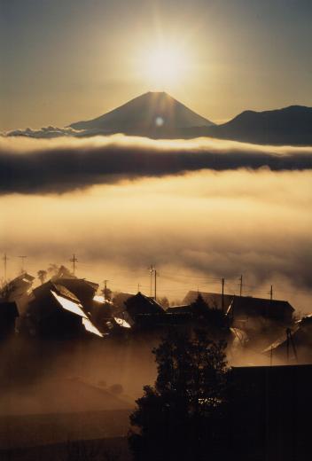 富士山絶景撮影ポイント⑥「ダイヤモンド富士」の定番撮影スポット!高下