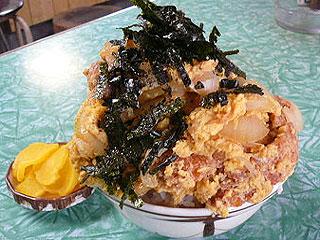 岐阜県大盛りデカ盛りグルメ⑨器も量も規格外!元祖大盛り!みのや食堂