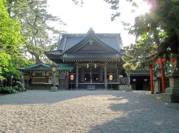 石川県パワースポットランキング⑤全国で雄一、難関突破祈願!安宅住吉神社 拝殿