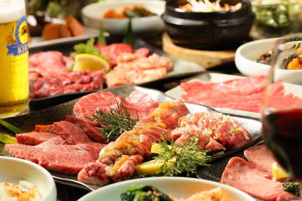 川越焼肉ランキング②ランチ限定のブッフェがお得「シンラガーデン」