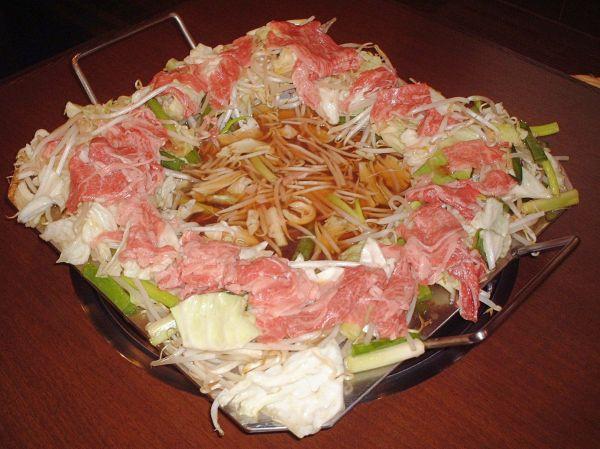 川越焼肉ランキング⑧関東では珍しい鉄板鍋のお店「ほのや」