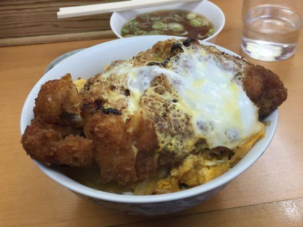宮城県超大盛りデカ盛りグルメ⑩ラーメン屋さんでカツ丼!?中華そば  ひさご