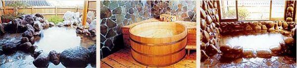 別府家族風呂ランキング③ログハウスのような貸切温泉棟が10棟!別府大平山温泉 おかたの湯