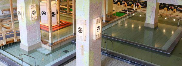 大阪日帰り温泉ランキング①滝とセットで訪れたい!箕面温泉スパーガーデン