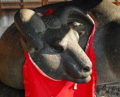 浅草パワースポットランキング②牛を撫でていると心が落ち着きます「牛嶋神社」