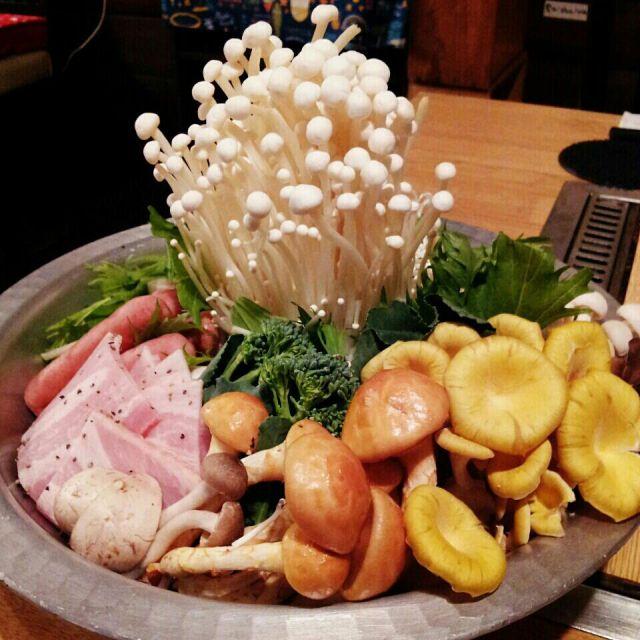 大阪きのこ鍋ランキング⑥これぞ食べるエステ!ベジタブル食堂きのこの道