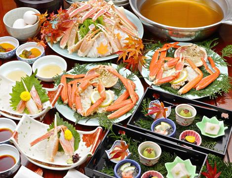 大阪カニ鍋ランキング④高級なカニをくつろげる空間で、かにの松葉亭