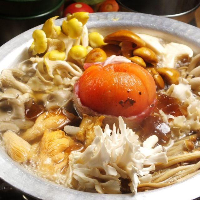 大阪きのこ鍋ランキング①キノコ料理とアボガド料理の専門店!きのこの里 天王寺店