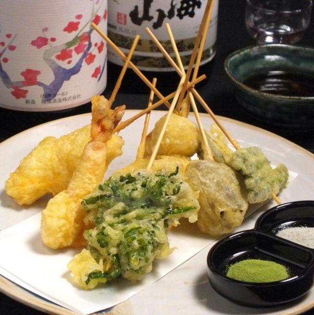 京都府天ぷらランキング④三条近辺でランチに迷ったらここ「野菜天ぷら 八百起」