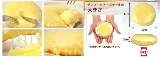 """神戸B級グルメランキング⑩未体験のチーズケーキ!""""観音屋のデンマークチーズケーキ"""""""