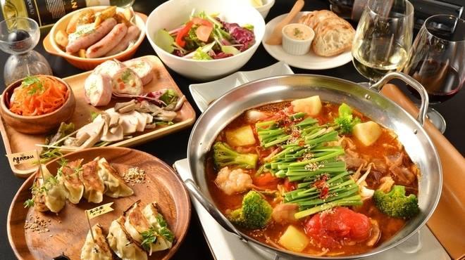 名古屋もつ鍋ランキング④デートで食べたい洋食屋さんのもつ鍋「ワイン食堂ビストロQ」