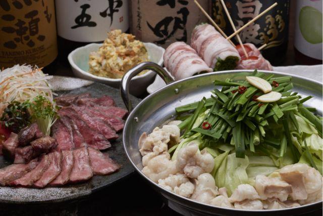 名古屋もつ鍋ランキング⑩名駅にそびえる大名古屋ビルヂングにある「九州博多料理 もつ鍋 幸」