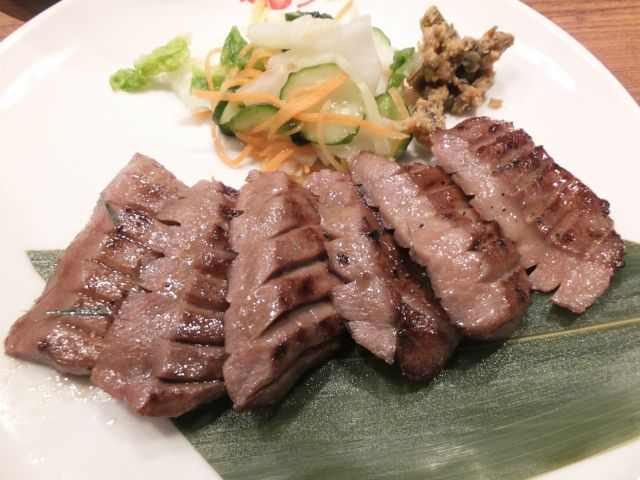 神戸牛タンランキング⑤観光も楽しめる抜群の立地!「仙台牛たん福助」