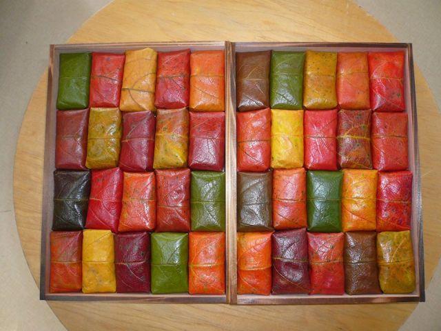 奈良名物柿の葉寿司ランキング⑩目を奪われる美しさ!予約必須「柿の葉すし 山の辺」