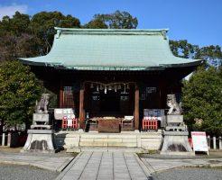 名古屋縁結びパワースポット①2つの幹が絡みつくご神木へ祈りを「城山八幡宮」