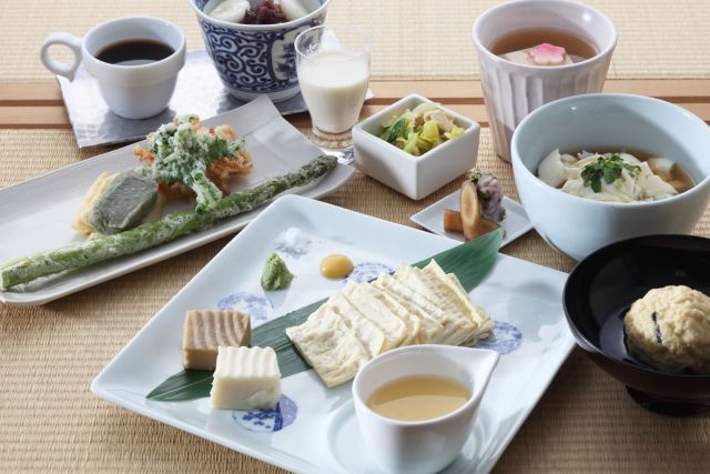 京都湯葉料理ランキング⑦カフェメニューも充実 京とうふ藤野本店