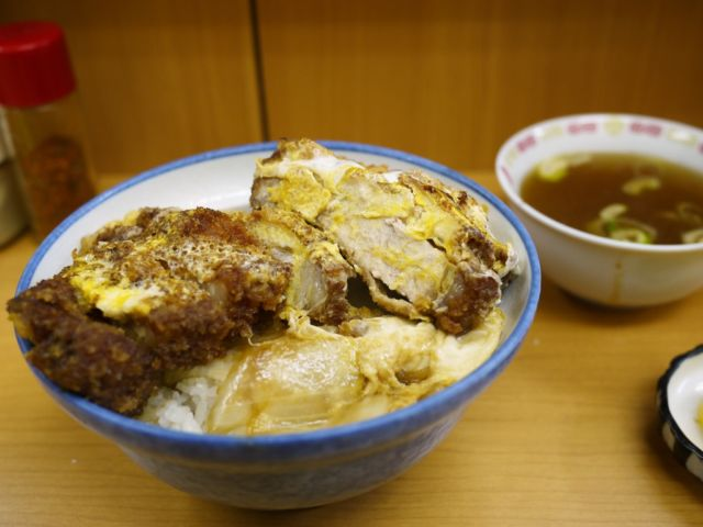 仙台かつ丼ランキング①ラーメン店でカツ丼!ひさご