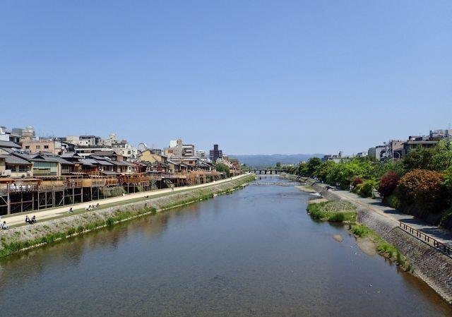 京都絶景撮影スポット⑦四季折々の姿が美しい!鴨川