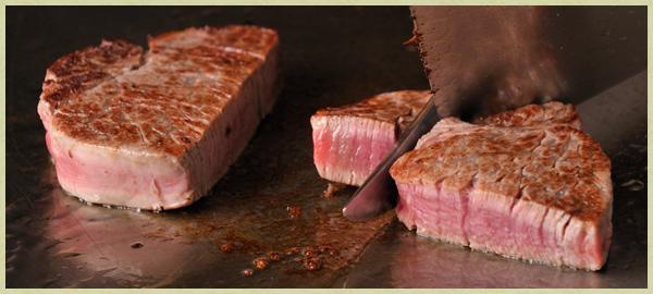 宇治名物グルメ⑤お茶室を改造したレストランで鉄板焼【ステーキ割烹 花やしき】2