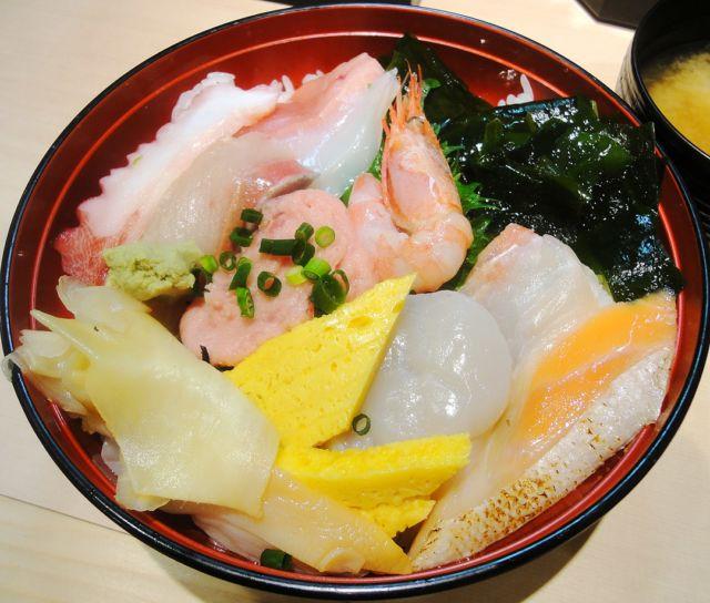 仙台海鮮丼ランキング⑥デパ地下の海鮮丼!すし遊洛