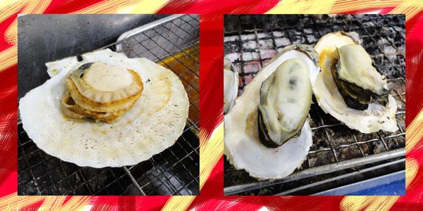 塩釜牡蠣料理ランキング④焼き牡蠣とお土産ならここ!幸進丸水産直売所