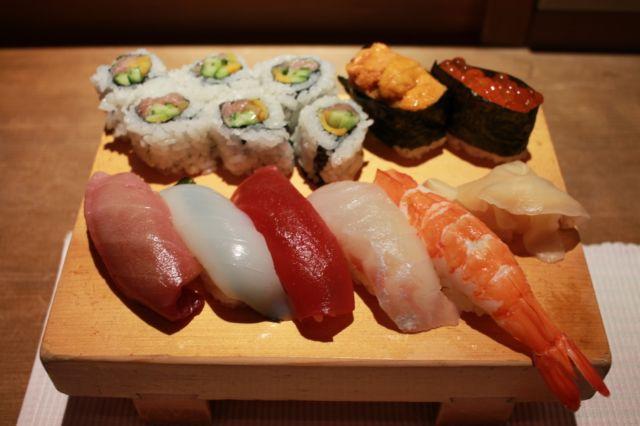 水戸寿司ランキング⑦茨城県産の寿司を地酒で!鮨いし川