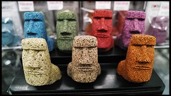 松島お土産ランキング⑤南三陸町の砂で作った!モアイの置物