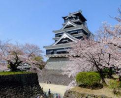 ⑨桜の名所でもある熊本城2