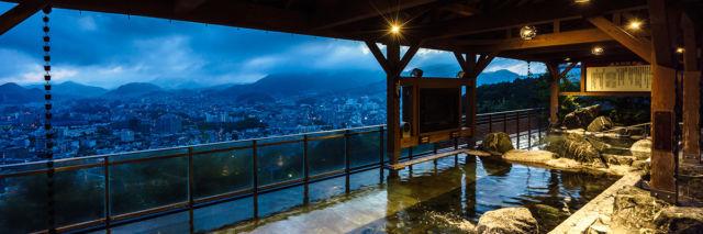 長崎県温泉ランキング②夜景と温泉に癒されます!稲佐山温泉 ふくの湯