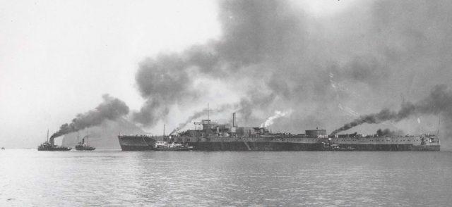 軍艦島トリビア①軍艦島という名前の由来は「軍艦 土佐」に似ていたから